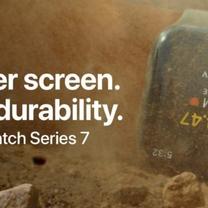 Bigger screen. Epic durability. | Apple Watch Series 7 | Apple