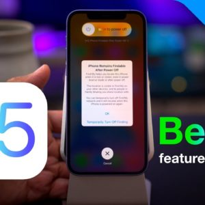 iOS 15 Beta 5 Changes and Features!
