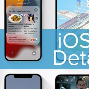 iOS 15 Features Detailed At WWDC 2021