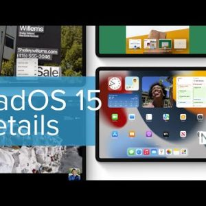 iPadOS 15 Features Detailed at WWDC 2021
