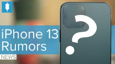 iPhone 13 Rumors: Smaller Notch? ProMotion? Always-On Display?