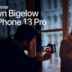 On set with iPhone 13 Pro Featuring 2x Oscar® Winner Kathryn Bigelow | Apple