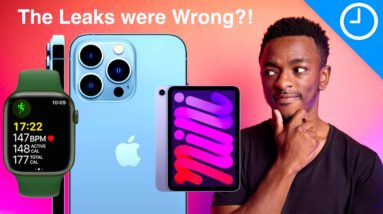 The Leaks were Wrong?! - Apple iPhone 13 Event Breakdown