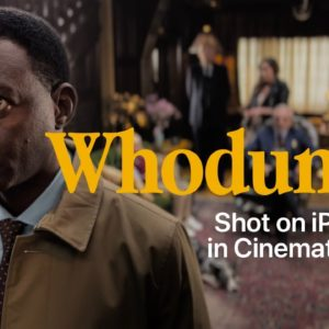 Whodunnit | Cinematic mode | iPhone 13 | Apple
