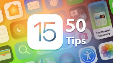 50 iOS 15 Tips And Tricks You Probably Don't Know!