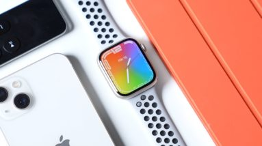 Apple Watch Series 7 First Impressions (Starlight Nike Edition)
