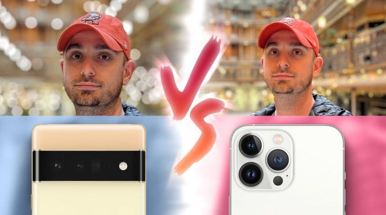 Google Pixel 6 Pro vs iPhone 13 Pro Max Camera Test