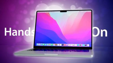 M1 Pro MacBook Pro Unboxing: Wow, This Thing is Amazing!
