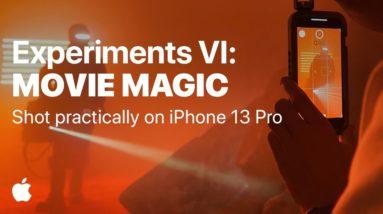 Shot on iPhone 13 Pro | Experiments VI: Movie Magic | Apple